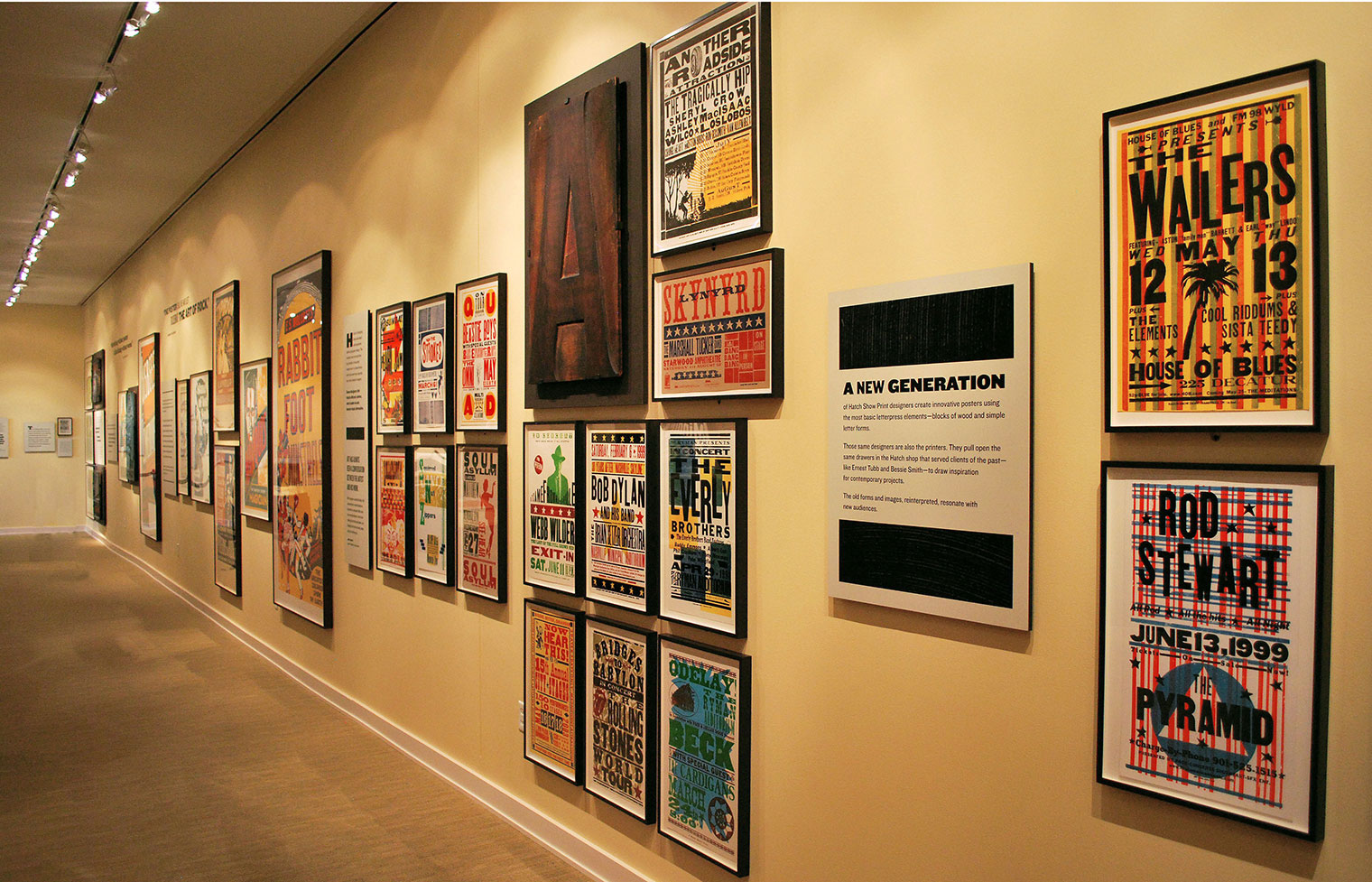 Hatch Show Print Exhibition