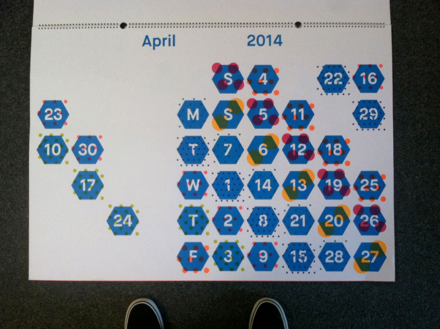 Calendar for Engelhardt and Bauer by Magma