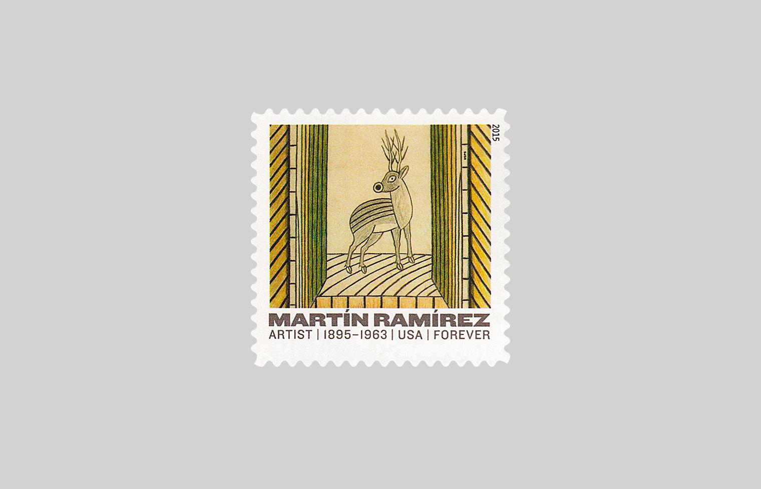 Martin Ramirez Stamps