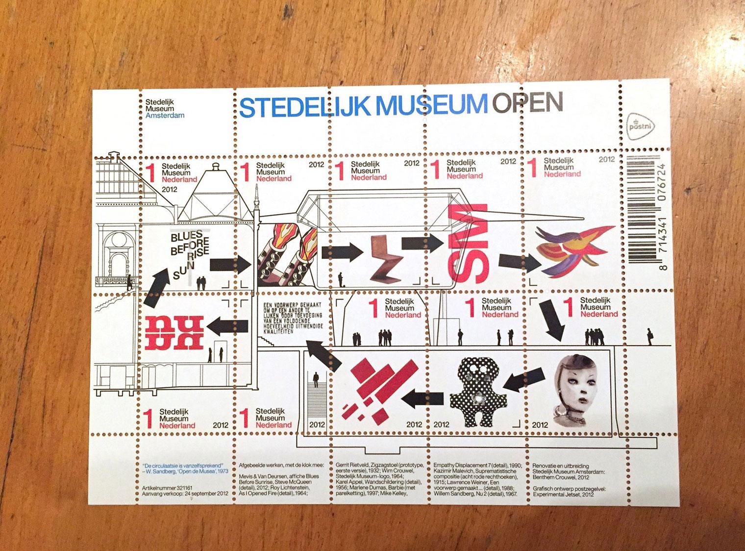 Stedelijk Museum Stamps