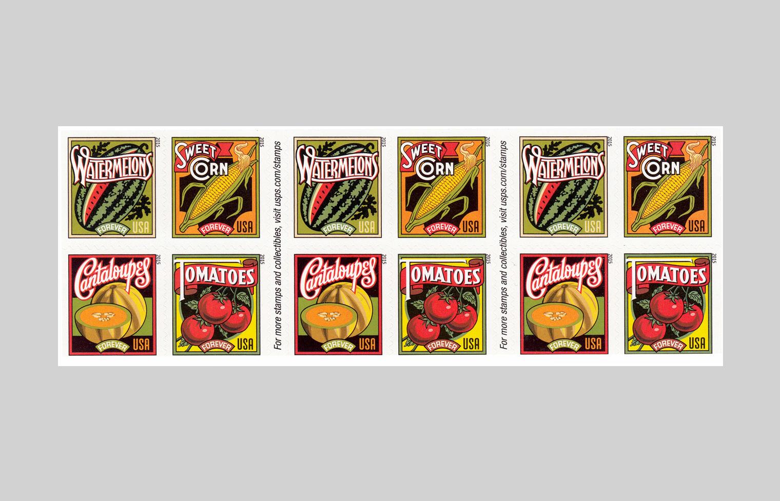 Summer Harvest Stamps
