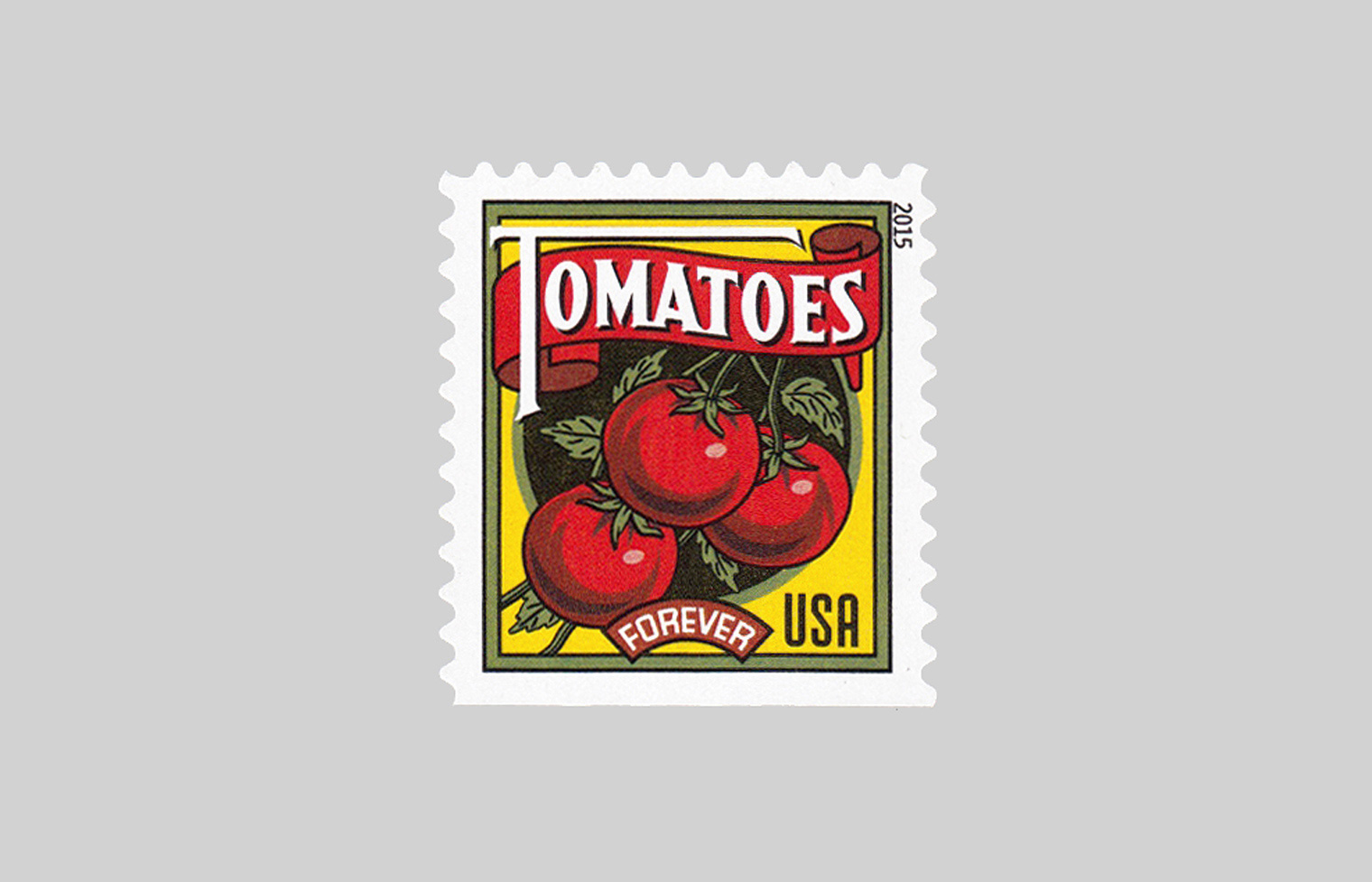 Summer Harvest Stamps—Tomatoes