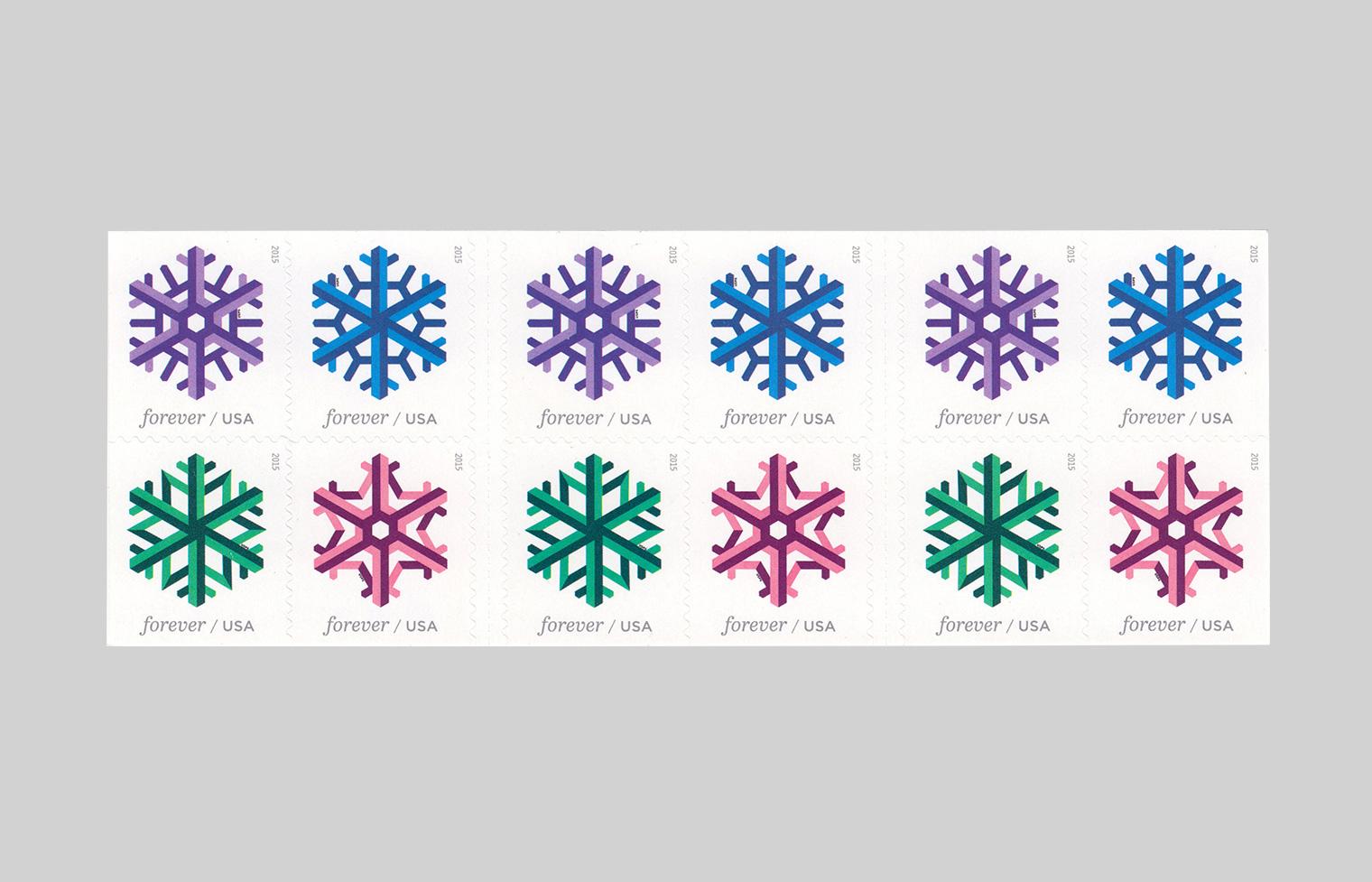 Goemetric Snowflake Stamp