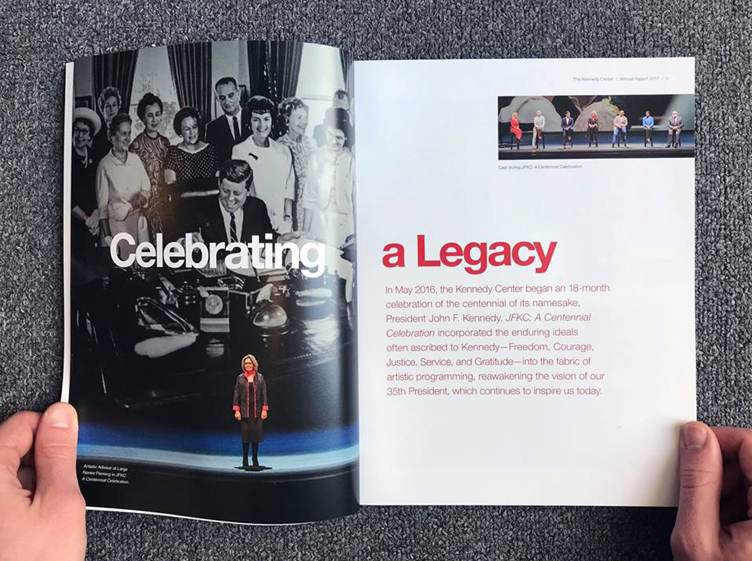 2017 Kennedy Center Annual Report