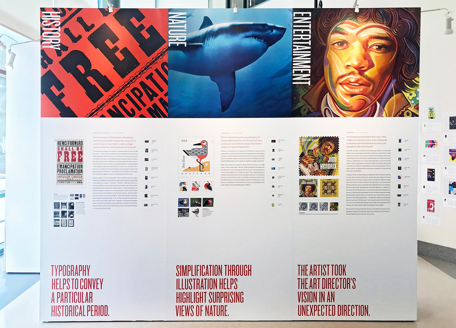American Stories American Stamps