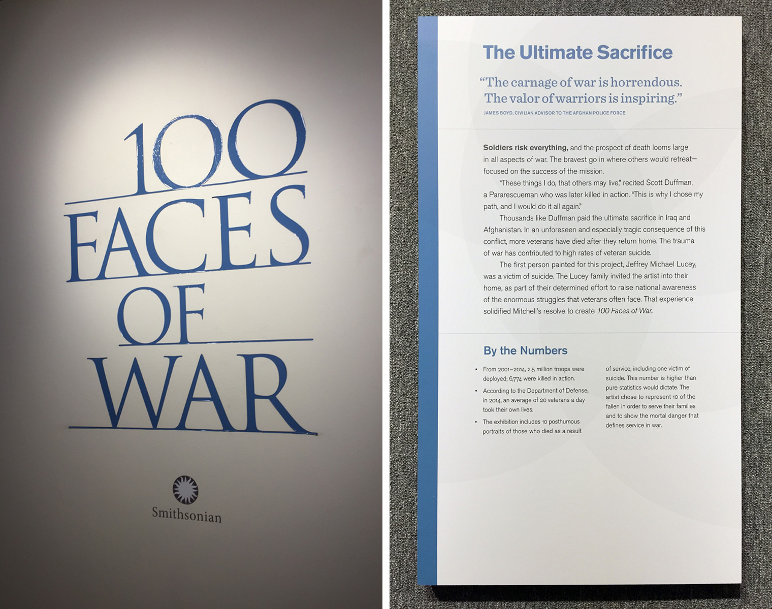 100 Faces of War