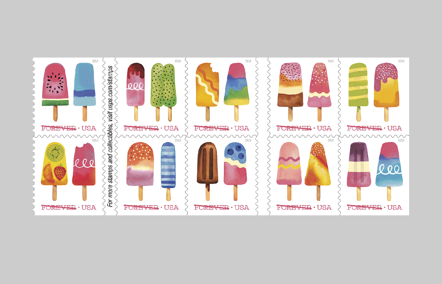 Frozen Treats Stamp