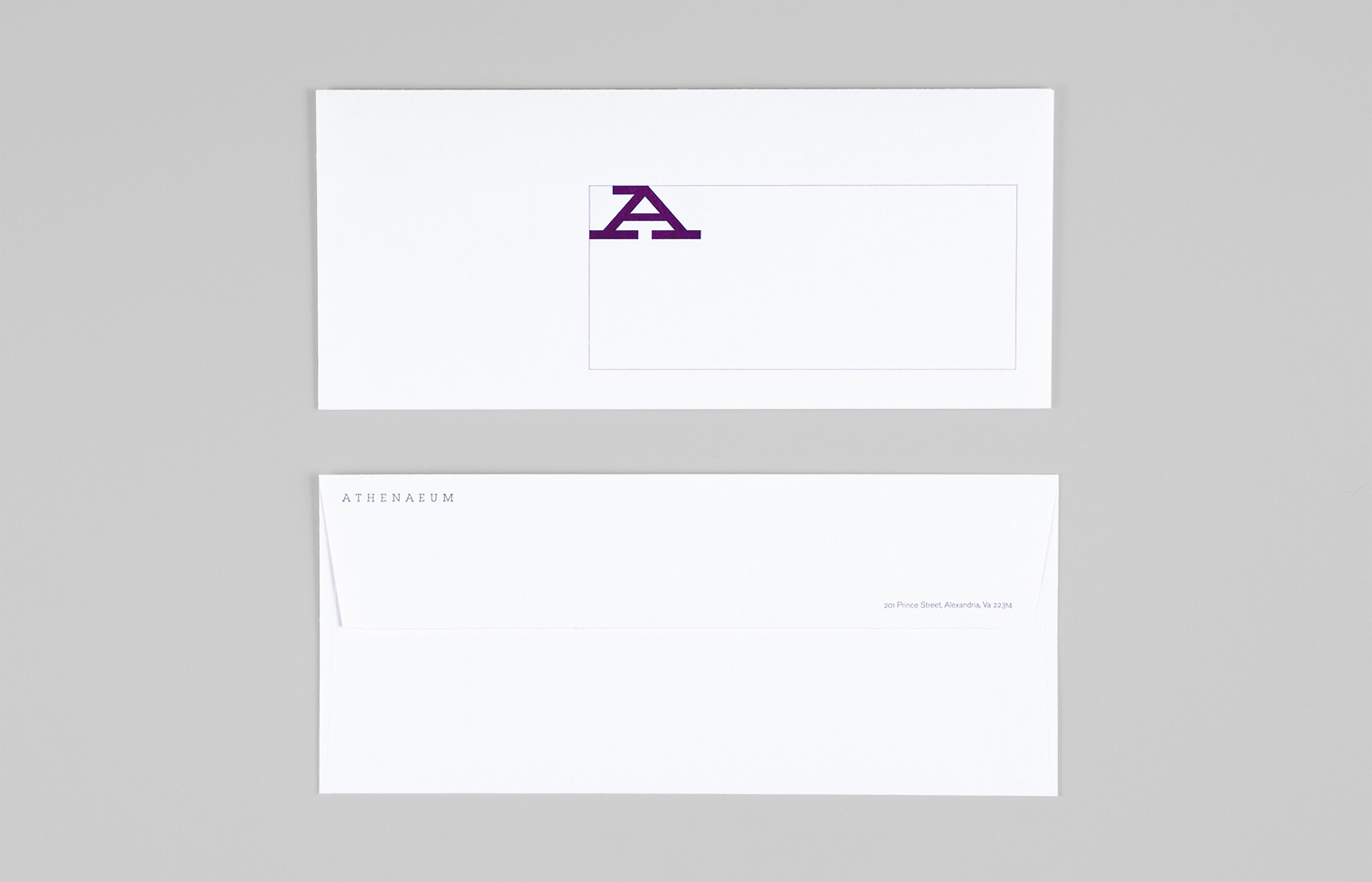 Envelope front and back.