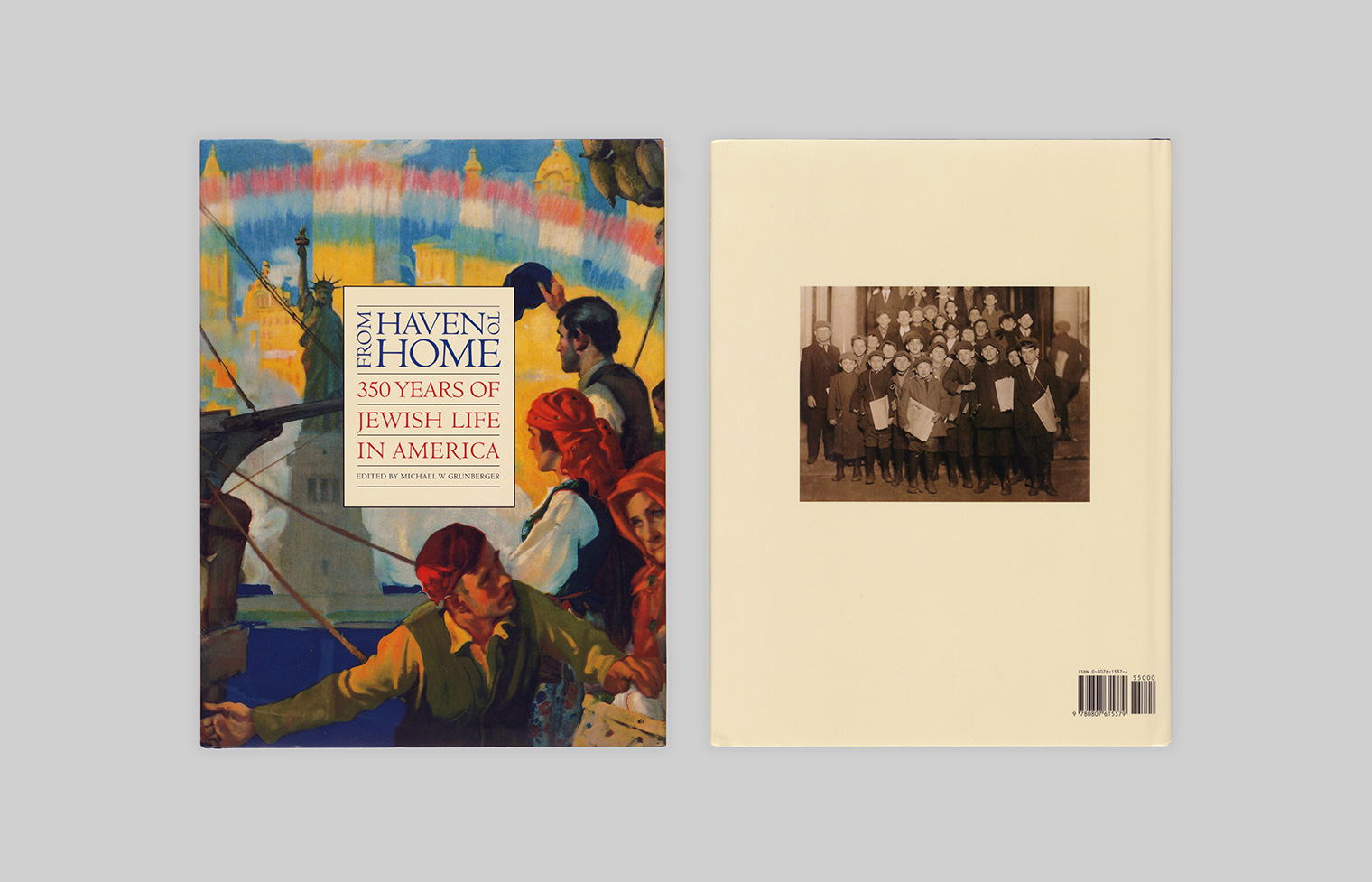 Front and back covers of the exhibition's companion catalogue.