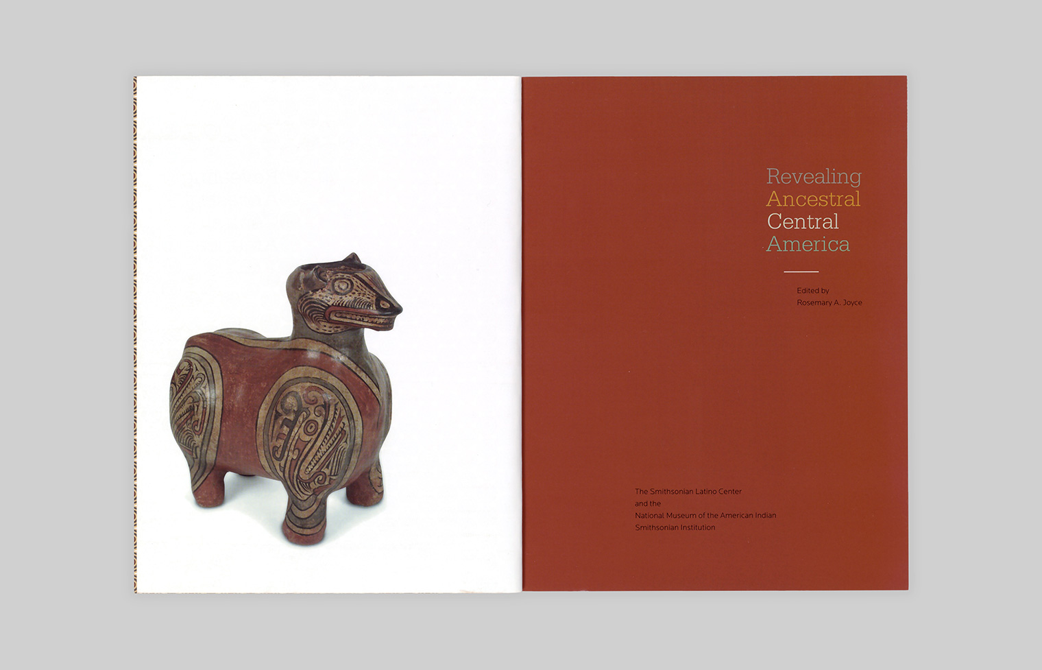 A Greater Coclé Animal figure faces the title page.