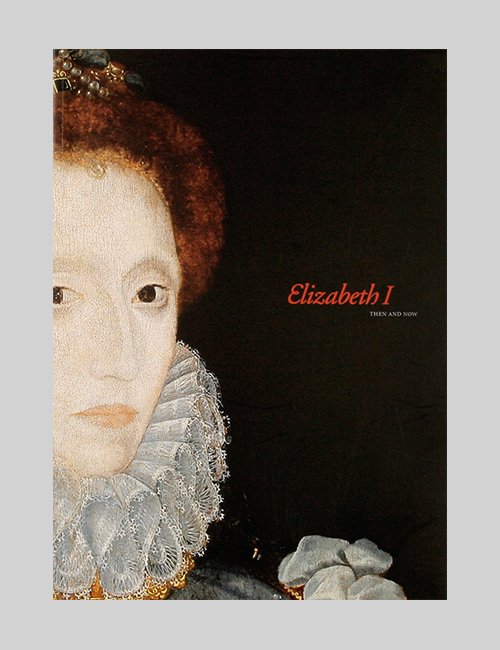 Thumbnail image of the cover of the Elizabeth I catalogue for the Folger Shakespeare Library.