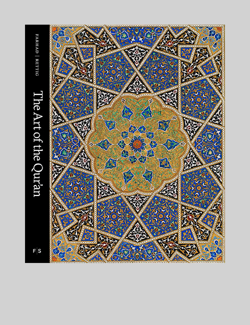 Thumbnail image of the cover of The Art of the Qur'an catalogue for the Freer + Sackler Galleries.