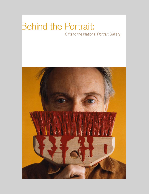 Thumbnail image of the Behind the Portrait book for the National Portrait Gallery.