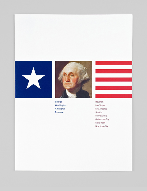 Thumbnail image of the George Washington: A National Treasure catalogue for the National Portrait Gallery.