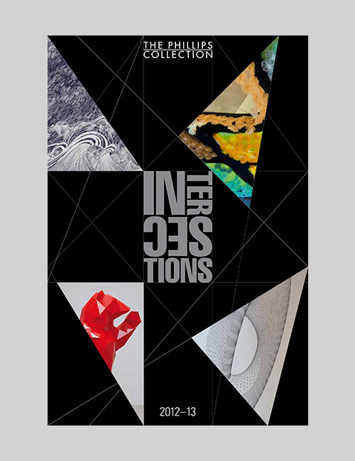 Thumbnail image of the Intersections exhibition brochures for The Phillips Collection.