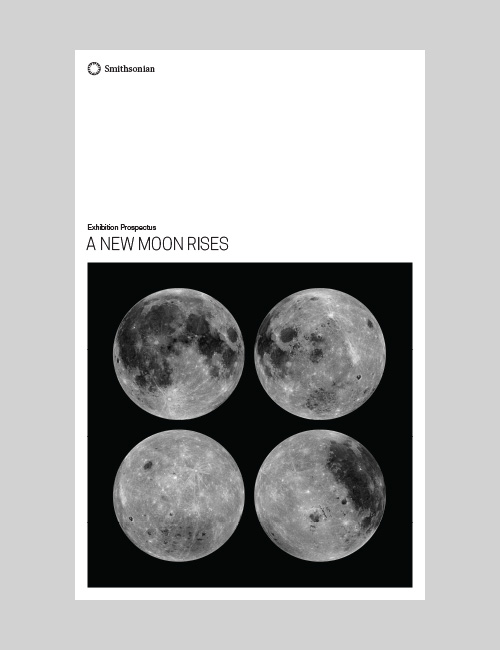 Thumbnail image of the prospectus cover for A New Moon Rises for the Smithsonian Institution Traveling Exhibition Service.