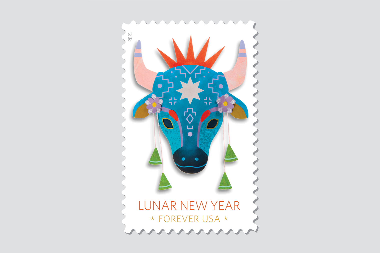 Lunar New Year: Year of the Ox Stamp