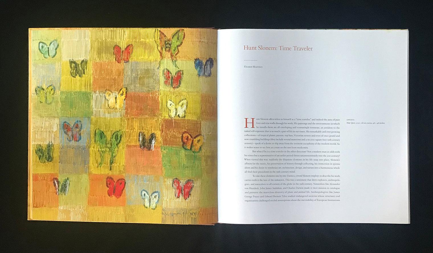 Opener for Hunt Slonem: The Bigger Picture Book
